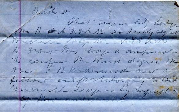 Underwood JB 1861 mm request (2)