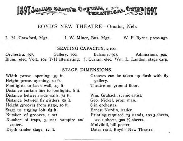 Boyd Theatre 1